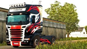 Vinyls paint job for Scania RJL (EviL & Ghass72)