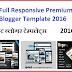 Full Responsive Premium Blogger Template 2016
