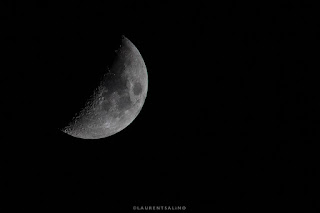 la lune - the moon - photographie © Laurent Salino