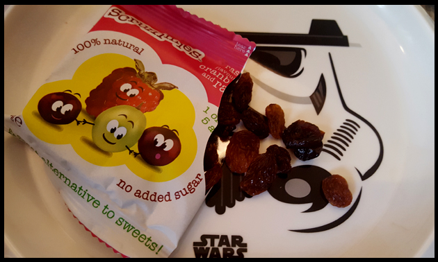 Taste testing Scrummies healthy snacks - with a 5 year old