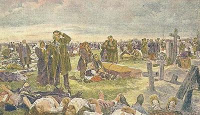 Entierro de los muertos del Campo de Khodynka