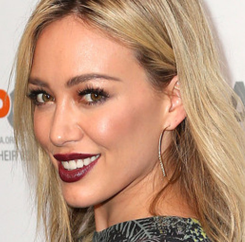 maquillage makeup blond brown Hillary Duff