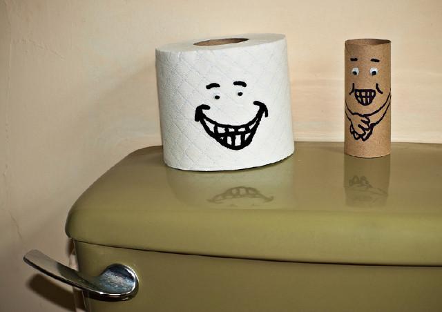 Туалетная бумага с рисунком