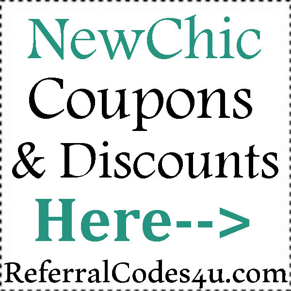 NewChic Discount Codes 2016-2021, New Chic Voucher Codes August, September, October
