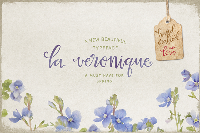 La Veronique Script par MyCreativeLand