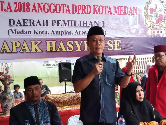 DPRD: Berbagai Keluhan Warga, Pemko Medan Diminta Harus Tanggap