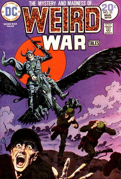 Weird War Tales #23