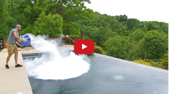 Video What Happens If You Drop 30 Lb Of Dry Ice In Pool Newsic