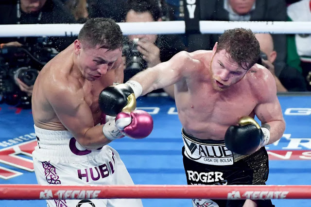 Canelo vs. Golovkin 2 CompuBox stats show just how close the fight really was
