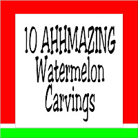10 Amazing Watermelon Carvings at Kims Kandy Kreations