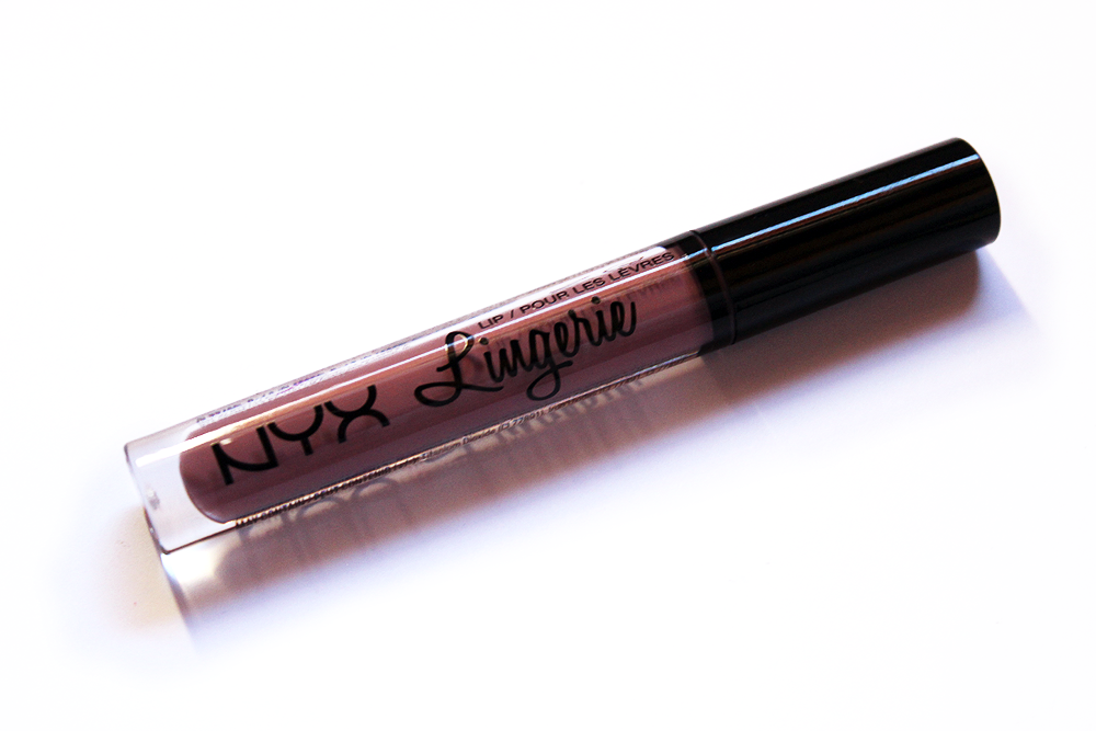 NYX Cosmetics Lip Lingerie Embellishment swatches and review