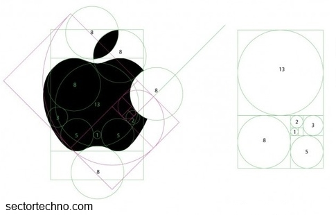 concept drawing of apple's logo