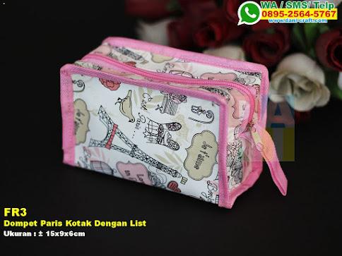 Dompet Paris Kotak Dengan List