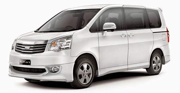 Rental / Sewa Mobil Harian Lepas Kunci TOYOTA NAV1 di Jakarta