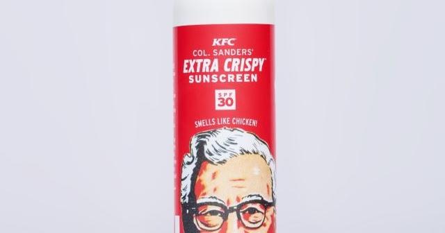 KFC Just Gave Away 3000 Bottles of Fried ChickenScented