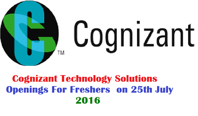 Cognizant Technology Solutions Openings For Freshers Passout freshers on 25th July 2016 /2016/07/cognizant-technology-solutions-openings-for-freshers-passouts-.html