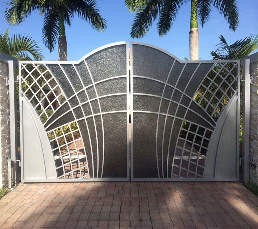 Gate is the entrance design to enhance the beauty of the house, it is also complete your home to give you more attraction and helps create sense of privacy to your house