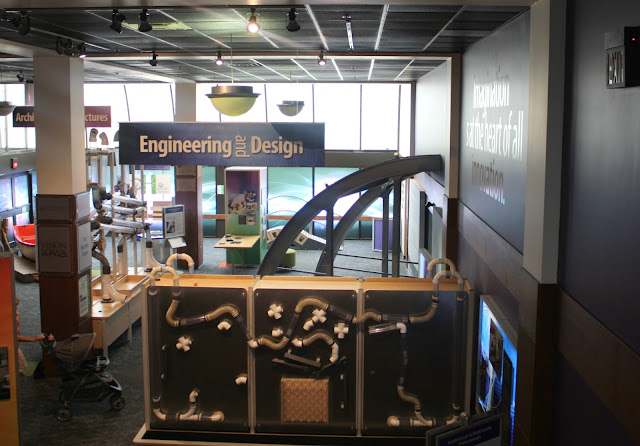 Hands-on engineering learning at Putnam Museum in Davenport, Iowa