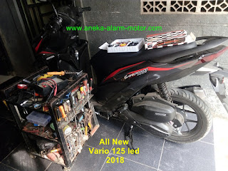 Cara pasang alarm motor All New Vario LED 2018