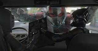 Escena de Ant-Man y la Avispa