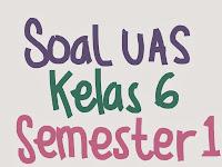 Gak terasa sudah masuk bulan Desember ya Contoh Soal UAS Bahasa Inggris SD Kelas 6  Semester 1