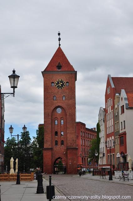 Elbląg- miasto na pograniczu dwóch województw