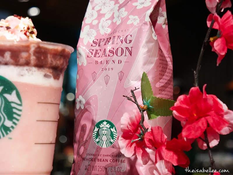 Starbucks Malaysia Spring Season Blend beans
