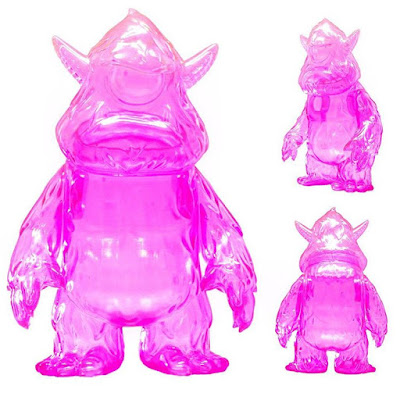 Designer Con 2016 Exclusive Stroll Clear Pink Edition Vinyl Figure by Spanky Stokes
