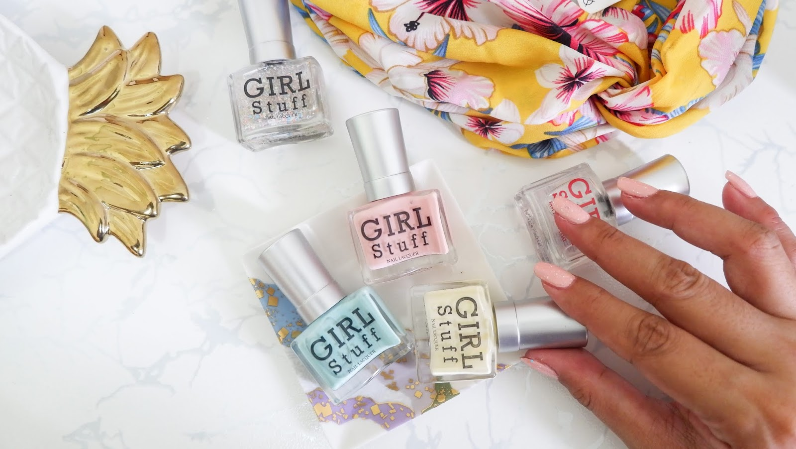 GIRLSTUFF: SUMMER ROMANCE COLLECTION NAIL POLISH