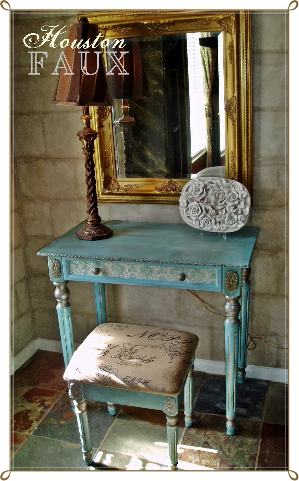 Faux Painting Furniture