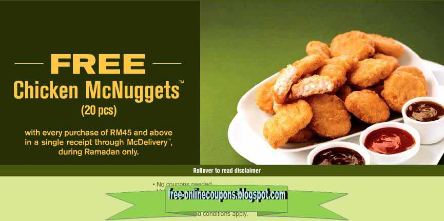 mcdonalds coupons nuggets