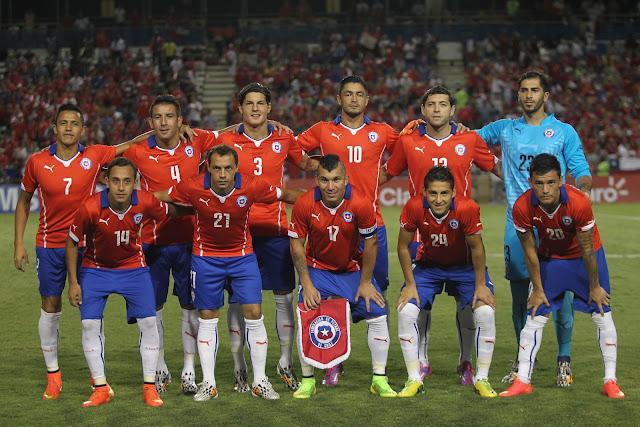 Formación de Chile ante Haití, amistoso disputado el 9 de septiembre de 2014