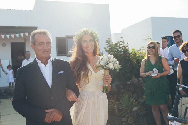 boda blog novia vestido canciones entrada