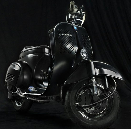 Vespa Scooter Modification Collections