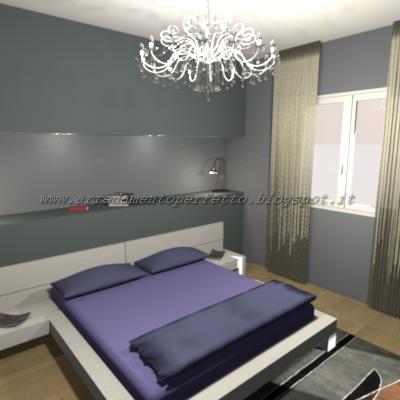 Consigli d 39 arredo la camera da letto in muratura for 3 camere da letto 3 piani del bagno