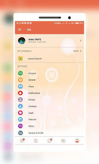BBM Mod Candy Light 3.3.3.39 APK