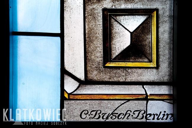 Gostyń. Sąd rejonowy. Wnętrze. Witraż. Carl Busch Berlin.