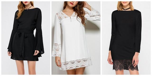 Rosegal Wishlist Long Sleeve Mini Dress