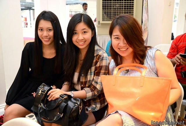 Pretty Penang bloggers, Amber, Camy, and Emily at the launch
