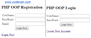 PHP OOP Login and Registration System