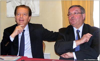 Dominique Perben et Michel Mercier