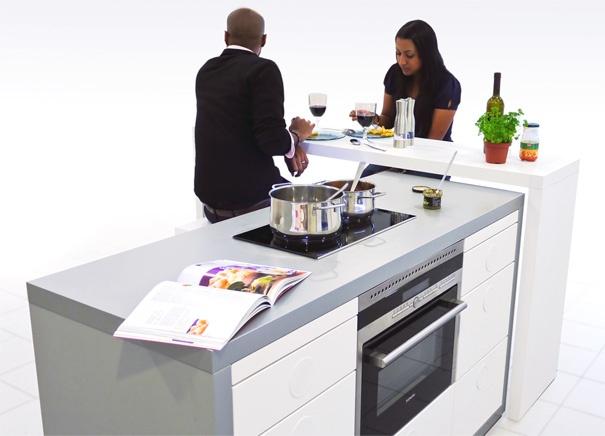 La cocina modular inteligente  Cocinas con estilo