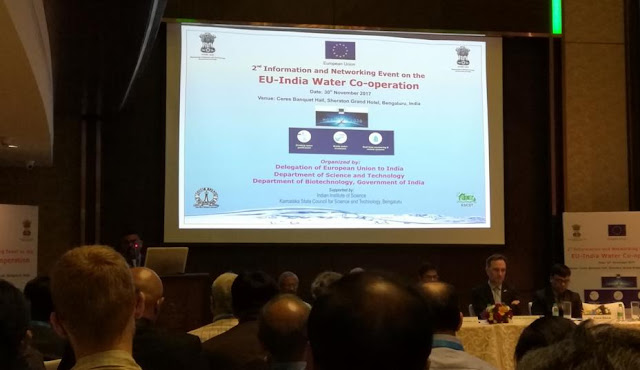 EU-India Water co-operation 2017