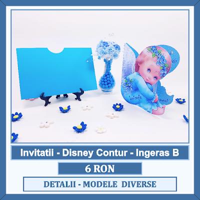 http://www.bebestudio11.com/2017/03/invitatii-botez-disney-contur-ingeras.html