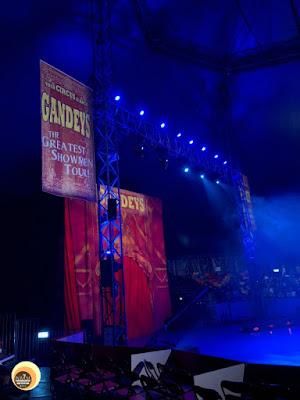 Gandys Circus Show at AIA Great European carnival, hong kong