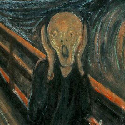Quadro Urlo di Munch