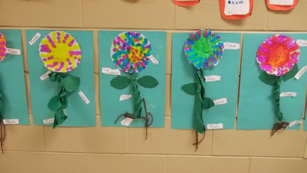 Stem and Leaf Cut Out for Bulletin Board