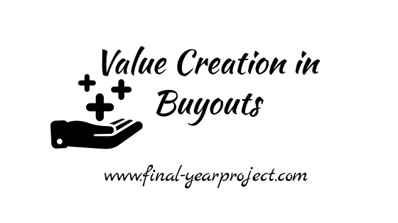 MBA Project on Value Creation in Buyouts