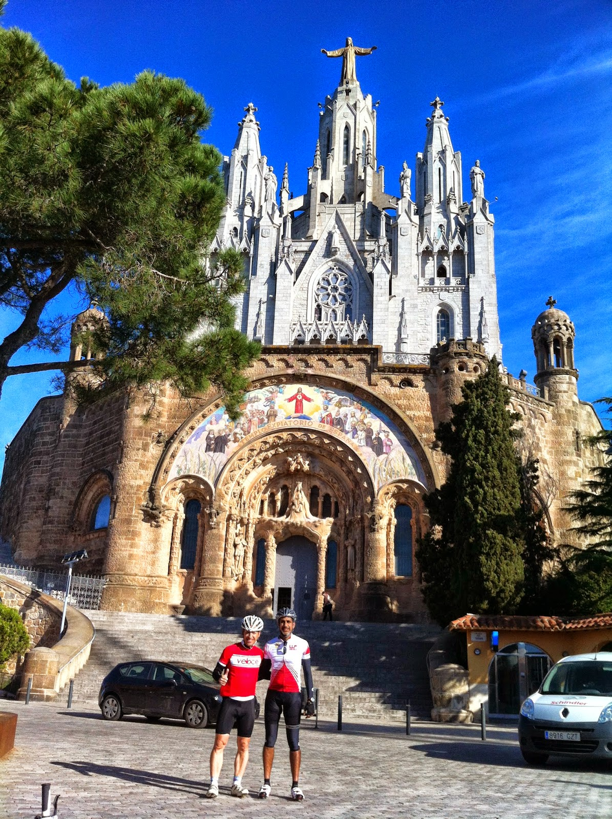 visit tibidabo cycling tours in barcelona