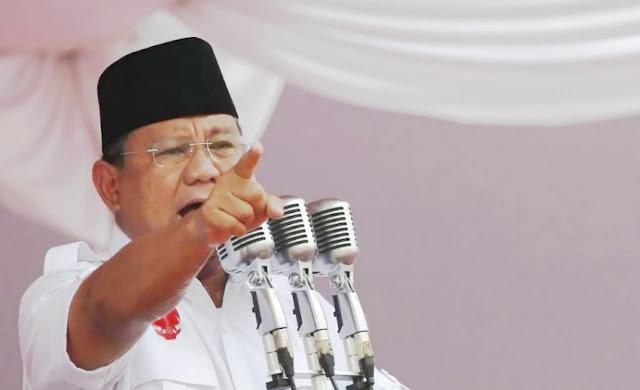 Prabowo: Tapi Surat Suara Sudah Tercoblos di Malaysia